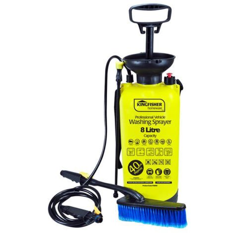 8L High Pressure Sprayer / Washer