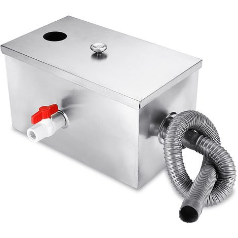 "main image of ""8LB Grease trap interceptor Oil Water Separator Pr Kitchen Restaurant"""