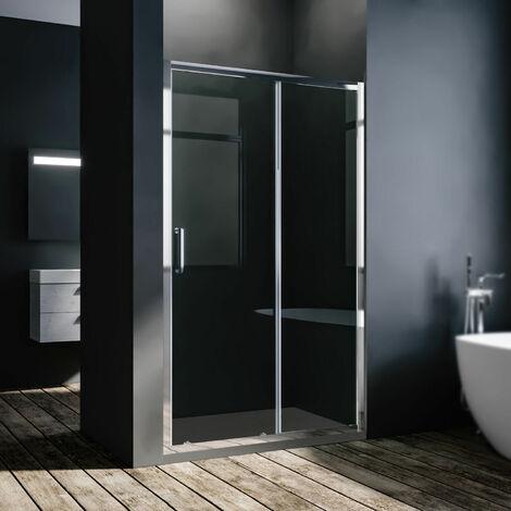 8mm NANO Schiebetür Nischentür Duschtür Duschabtrennung Dusche Duschkabine 120cm