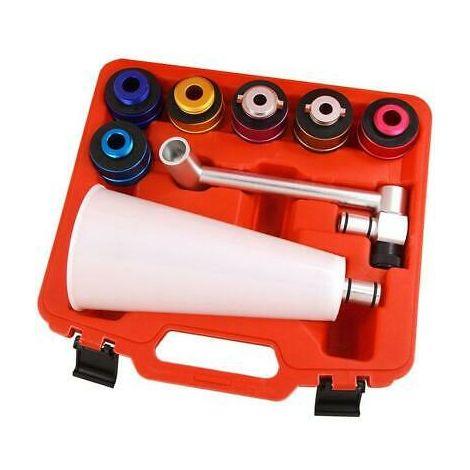 8pcs Aluminium Engine Oil Filler Set
