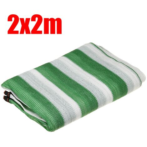 8Pin Anti-UV Sunshade Net Car Sunscreen Sunblock Shade Clothing Net Green+White