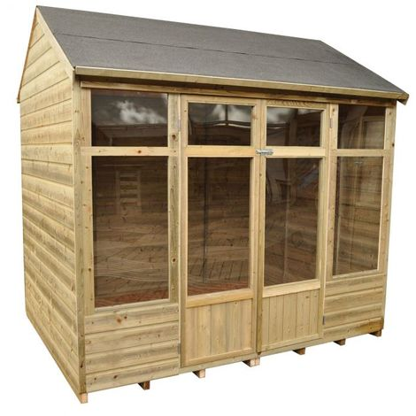 8x6 Forest Witney Tarditional Wooden Summerhouse