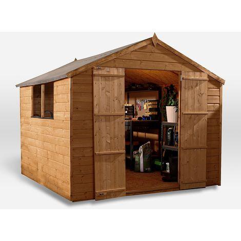 8x8 Waltons Shiplap OSB Apex Garden Shed