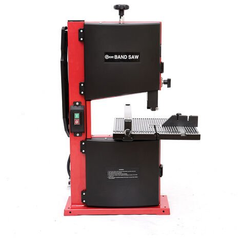 """9\"""" Band Saw Benchtop 230V Wood Cutting Blade Woodworking Cast Table Bandsaw 350W"""