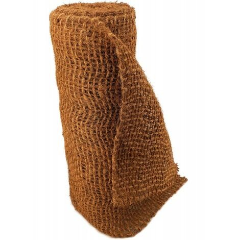 9 m filet anti-érosion en fibre de coco 1 m de large, film pour bassin de jardin, natte en fibre de coco 750 g