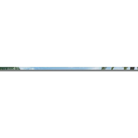 9 Piece Outdoor Dining Set with WPC Tabletop Aluminium Black