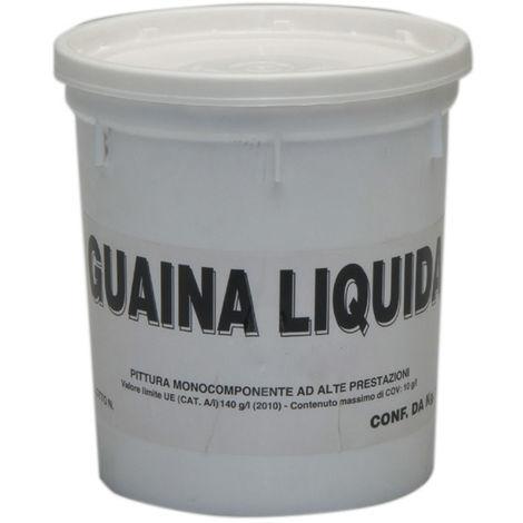 9 PZ Di GUAINA LIQUIDA RESINOSA BIANCA KG. 1