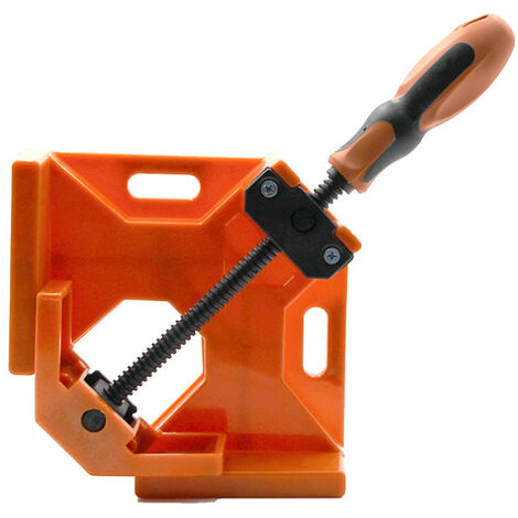 """main image of """"90 Degree Right Angle Woodworking Clamp Right Angle Fixed Clamp Quick Clamp Frame Cabinet Installation Auxiliary Tool Woodworking Practical Right Angle Clamps,model:Multicolor"""""""