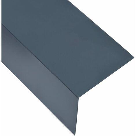 90 Winkelprofil 5 Stk L Form Alu Anthrazit 170 Cm 100x100 Mm