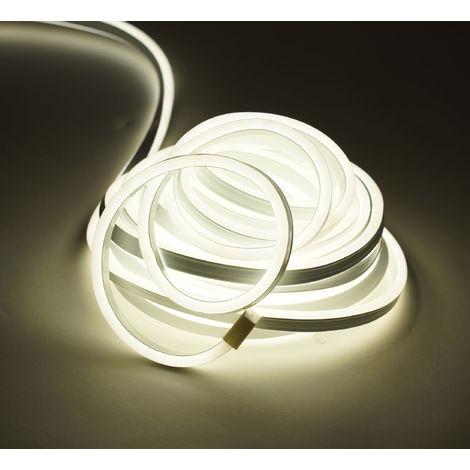 900 LED SMD Lichterschlauch - warmweiß - 10m / IP44