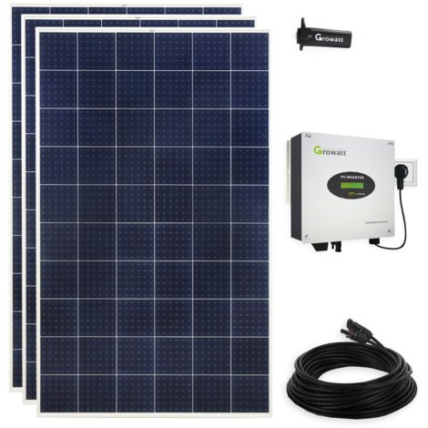 900 Watt Solar Photovoltaik PV Plug & Play Mini-Solaranlage für die Steckdose