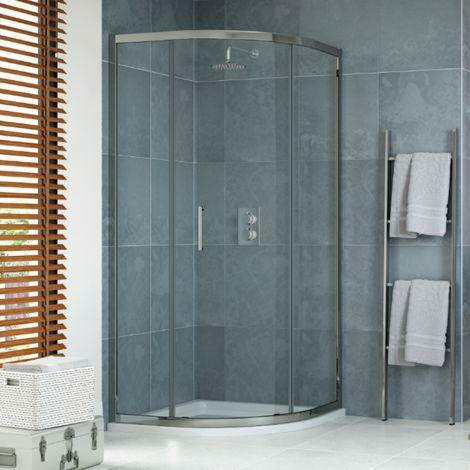 900 X 900mm Quadrant Shower Enclosure 1 Door & Tray