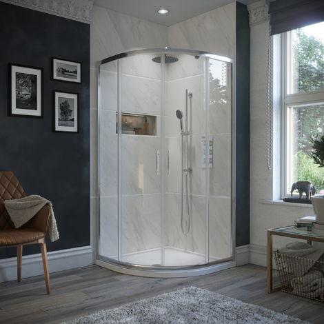 900 X 900mm Quadrant Shower Enclosure 2 Door