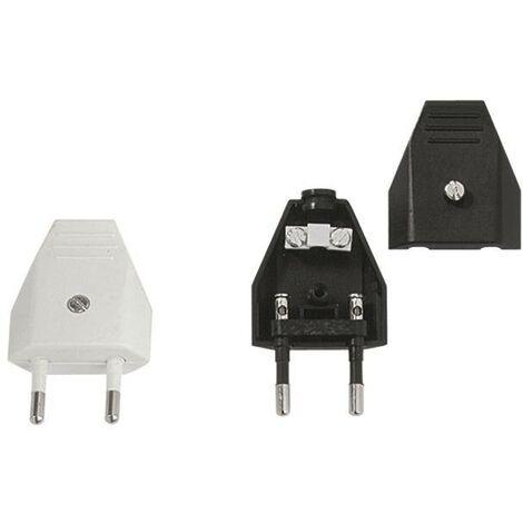 900.002 Bachmann 2P noir fiche d'alimentation électrique C264351