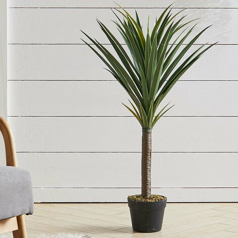 90CM Artificial Sisal Tree Faux Plant With Pot