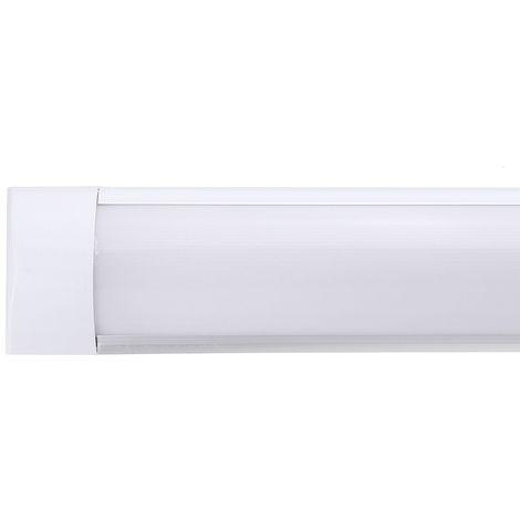 90cm Tube lumineux 72led en aluminium pour maison bureau 220Vblanc chaud