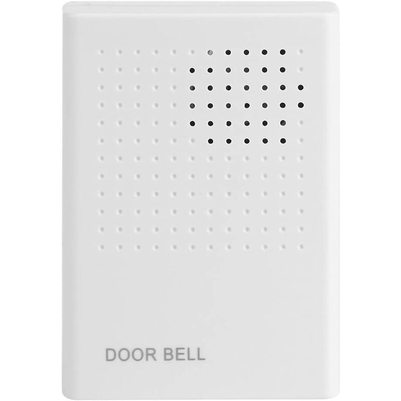 Briday - 90DB Wired Door Bell Welcome wired guest doorbell Doorbell Door Chime Wired Alarm Security alarm for home, office, access control system