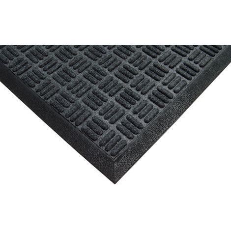 90x150cm (3x5') Heavy Duty Rubber Anti Fatigue Extra Thick Floor Mat Criss Cross Polypropylene