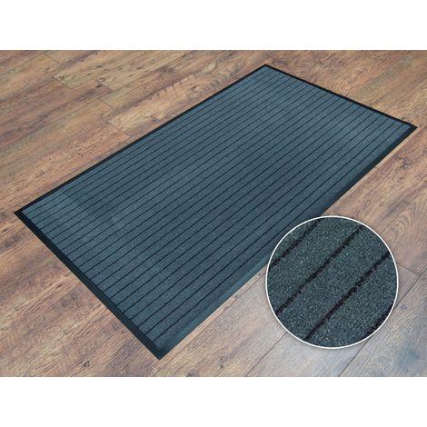 90x150cm (3'x5') Striped Heavy Duty Non Slip Barrier Entrance Office Door Floor Mat