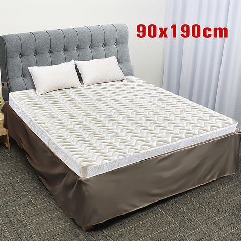 90x190cm Velvet Bed Skirt Box springs Elastic wallet Sasicare
