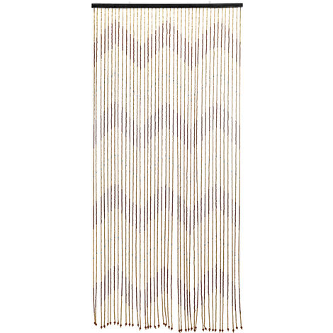 90x220 cm 31 online retro wood bead curtain screen door curtain blinds for porch living room bathroom Mohoo