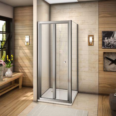 90x90x185cm cabine de douche porte de douche pliante paroi de douche