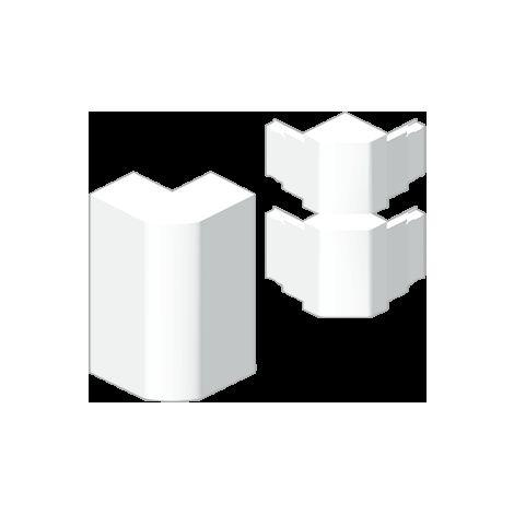 93 Ángulo exterior canal 3 tapas blanco RAL9010 50x170 U24X UNEX 93275-2
