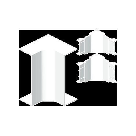93 Ángulo interior canal 3 tapas blanco RAL9010 50x170 U24X UNEX 93325-2