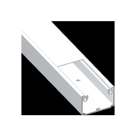 93 Canal 1 tapa blanco RAL9010 50x100 U23X UNEX 93021-2