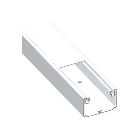 93 Canal 1 tapa blanco RAL9010 50x80 U23X UNEX 93020-2