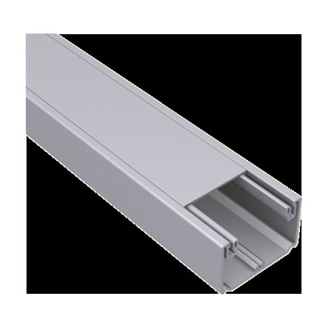 93 Canal 1 tapa color aluminio 50X80 U23X UNEX 93020-03