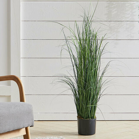 95CM Artificial Green Grass Plant Tree Fake Plant With Pot