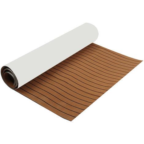 95''x27 '' EVA Rug Boat Pad Mat Decking Sheet Yacht Floor Carpet Flooring Floor Teak cover Mohoo