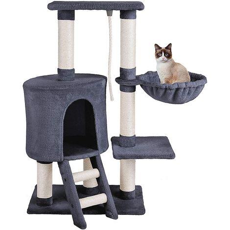 96 cm cat cat tree climbing tree cat column cat cave anthracite