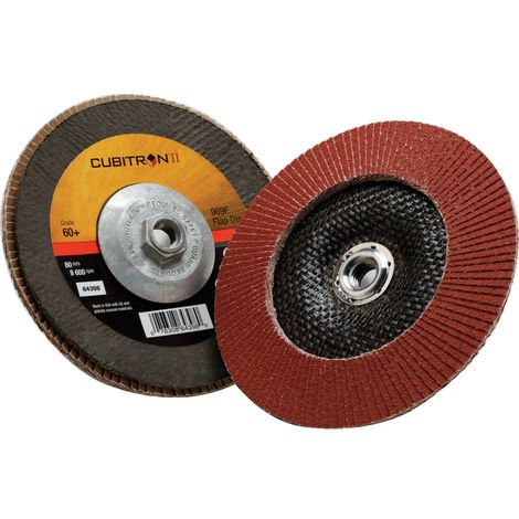 969F Cubitron II Conical Flap Discs