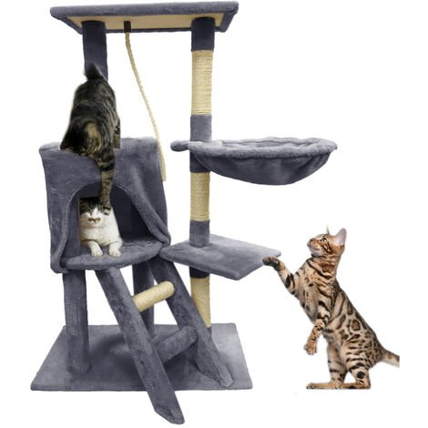 96CM Cat Tree Scratching Post Activity Centre Bed Toys