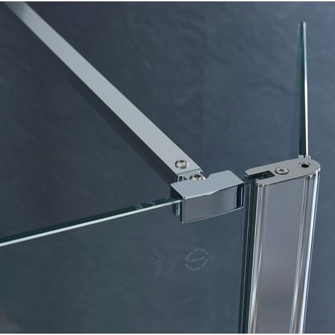970 mm Shower Wall To Glass Support Bar Arm