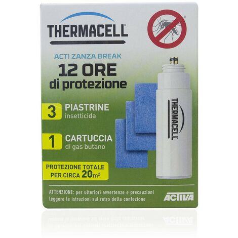 985110 ThermaCELL 3 plaquetas insecticidas + 1 cartucho 12 horas de protección