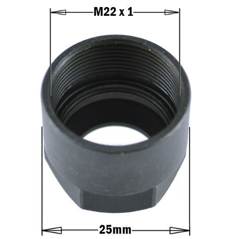 992.100 992 - COLLET CLAMPING NUT