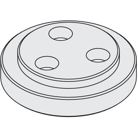 992.560M 992 - FLANGES FOR CHUCKS WITH ARBOR - MALE