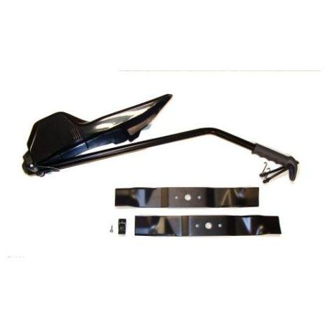 999003700 - Kit Mulching pour Tondeuse Autoportée Ejection Arrière Coupe 84cm Castelgarden / GGP