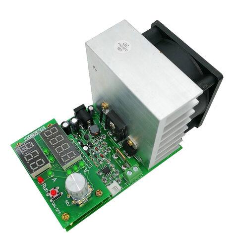 9.99A 30V Decharge A Courant Constant De Charge Electronique Testeur De Batterie De Capacite Avec Affichage Numerique Et Dissipateur De Chaleur Du Ventilateur, 110W