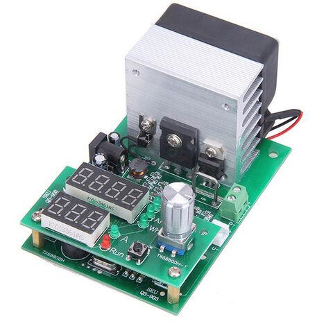 9.99A 30V Decharge A Courant Constant De Charge Electronique Testeur De Batterie De Capacite Avec Affichage Numerique Et Dissipateur De Chaleur Du Ventilateur, 60W