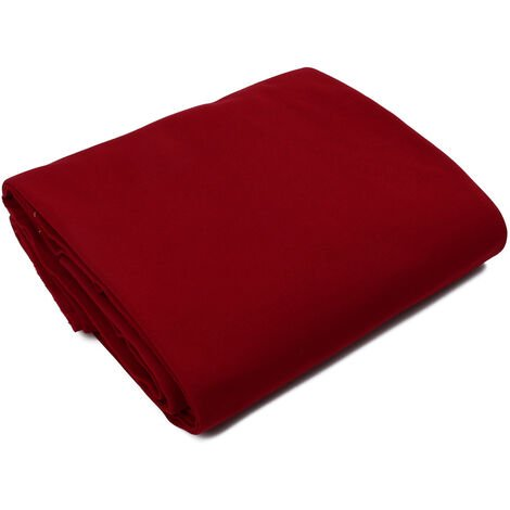 """main image of """"9ft Pool Table Cloth Worsted Wool Entertainment Nylon Billiard High Quality Felt Accessories Pool Table Cover Snooker Table(Red)"""""""