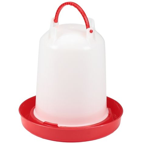 9KG Plastic feed dispenser poultry chickens ducks drinker dispenser feeder