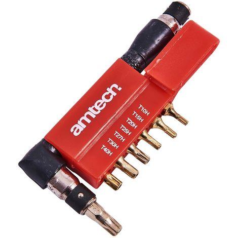 9pc Offset Tamperproof Torx Bit Set