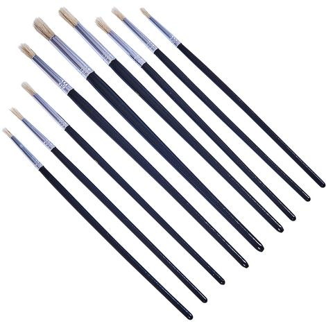 9pc Round Tip Art Brush Set