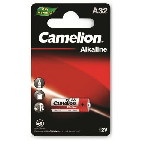9V-Batterie, Plus Alkaline, Camelion A32