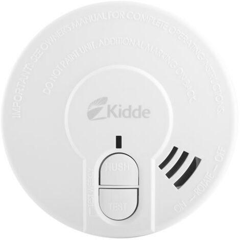 9V Optical Smoke Alarm with Test and Hush Button - Kidde 29HD