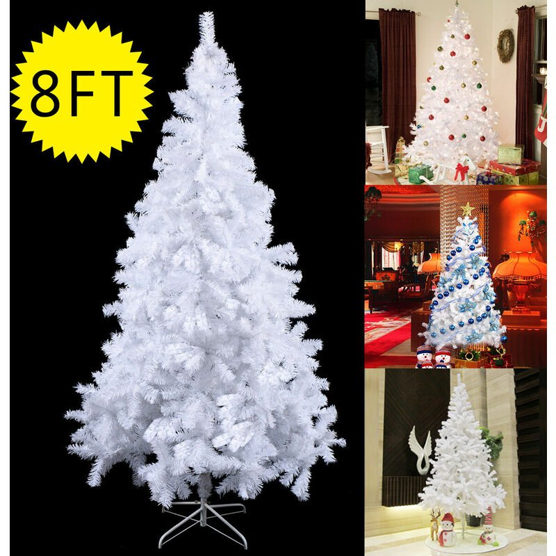 A Christmas Xmas Tree Hausen Traditional White Indoor Artificial